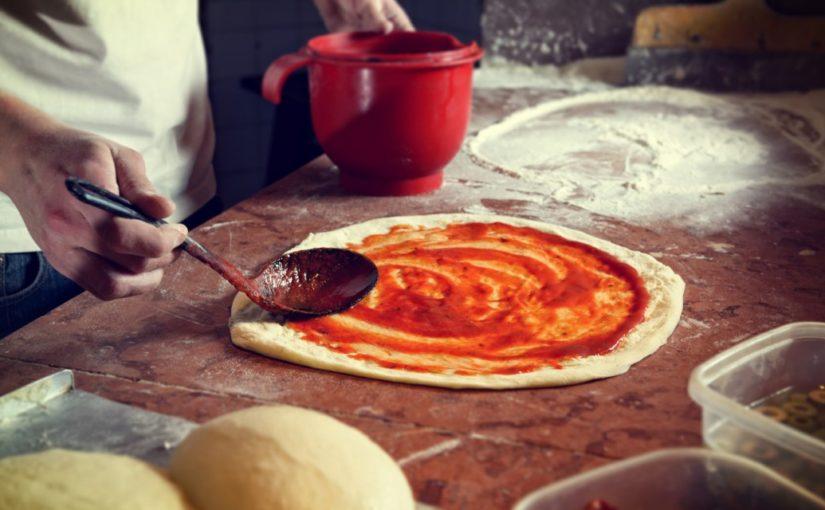 ciasto pod pizze